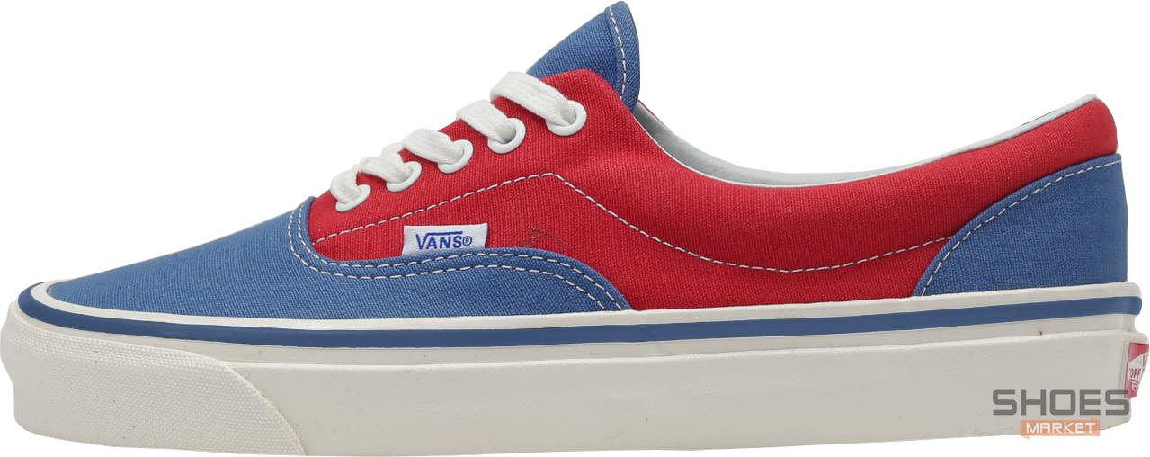 Женские кеды Vans ERA Red/Blue Line, Ванс Ера