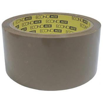 Лента клейкая упаковочная 48*50 коричневая