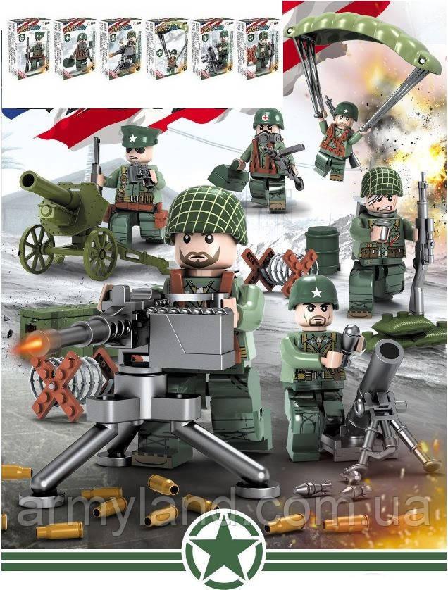 USA/США военный конструктор, аналог Lego, BrickArms