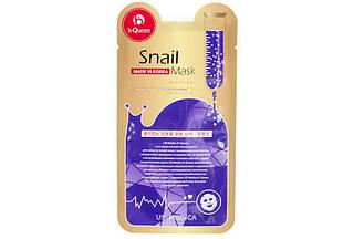 Маска для лица с экстрактом улитки Snail mask