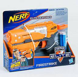 Детский пистолет с патронами на присосках Nerf
