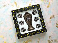 Шоколадный кубок с набором номинаций для лучшего папы