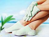 Gel Spa Socks (Гелевые увлажняющие носочки) Оранжевые, фото 4
