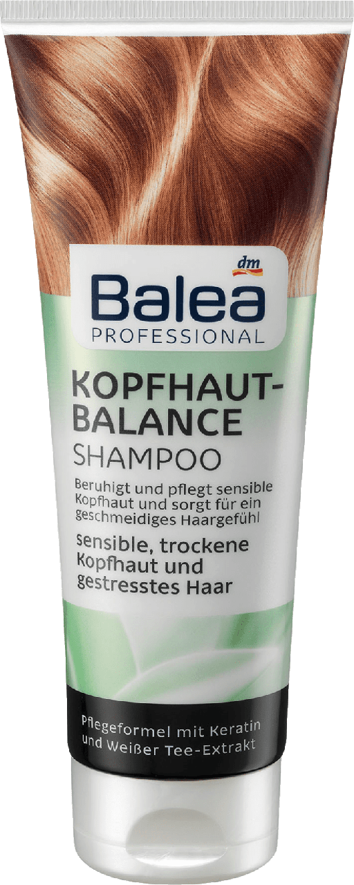 Шампунь против перхоти Balea Professional Kopfhaut Balance, 250 ml., фото 1