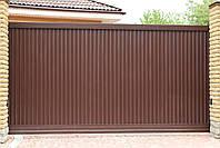 Откатные (сдвижные) ворота ТМ Хардвик ш3500, в2100 (дизайн стандарт), фото 3