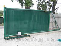 Откатные (сдвижные) ворота ТМ Хардвик ш3500, в2100 (дизайн стандарт), фото 7