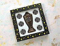 Шоколадний Кубок з набором номінацій коханому чоловіку