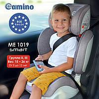 Автокресло детское ME 1019-11 SMART. Регулируемый наклон спинки (3 положения), фото 1