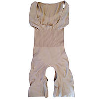 Утягивающее белье, комбидресс Slim Shapewear (РАЗМЕР 42-46, БЕЖЕВЫЙ)