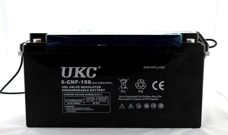 Аккумулятор Battery Gel 12V 150A UKC