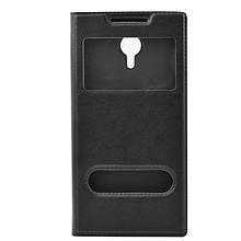 Чехол книжка кожаный SK Window для Lenovo Vibe C2 Power черный