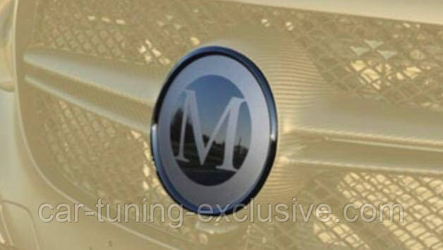MANSORY emblem for Mercedes S63 AMG Coupe / Cabrio
