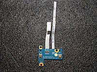 Плата кнопок тачпада со шлейфами DA0JE1TR8A4 ноутбука Sony Vaio PCG-9L1L
