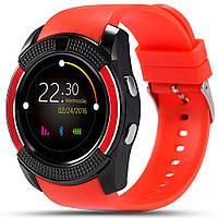 Часы наручные Smart Watch V8 RED- КРАСНЫЕ D1011