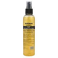 Комплекс для восстановления волос Hair Reconstruction Шаг#4. Кератин флюид Дневная защита, фото 1