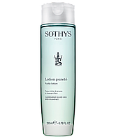 Лосьон-тоник для жирной и комбинированной кожи с экстрактом ириса Sothys Purity Lotion
