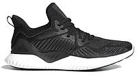 "Кроссовки Adidas Alphabounce Beyond 1 ""Black White"" - ""Черные Белые"" (Реплика ААА+)"