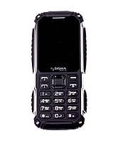 Телефон защищенный кнопочный с мощной батареей 4400 мАч и функцией Powerbank Sigma X-treme PT68