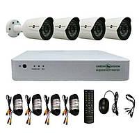 Комплект видеонаблюдения Green Vision GV-K-G02/04 720Р (LP4957)