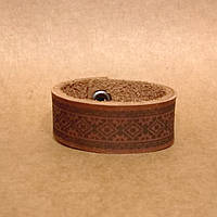 Браслет из натуральной кожи. Кожаный браслет ручной работы., фото 1