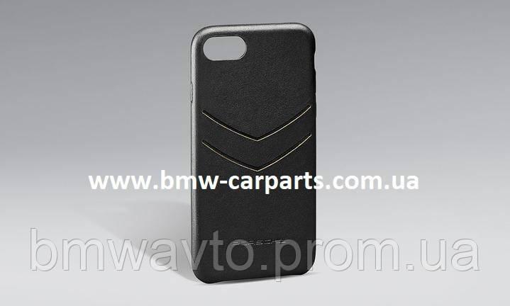 Кожаный чехол Porsche для iPhone XS Max