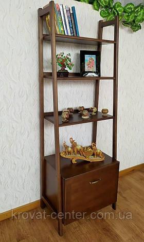 """Деревянный стеллаж """"Лофт"""" (лесной орех), фото 2"""