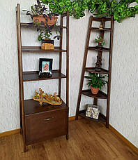 """Деревянный стеллаж """"Лофт"""" (лесной орех), фото 3"""