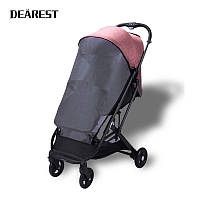 Коляска dearest2020 розовая