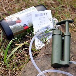 Туристический керамический фильтр для очистки воды Gymtop SWF-2000. Портативный