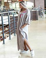 Сукня «Сакура» льон , фото 1