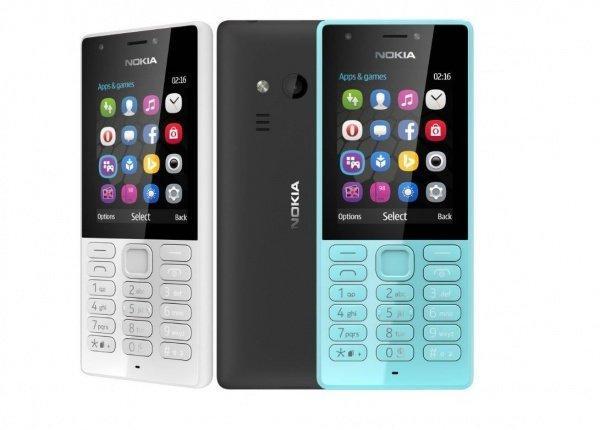 Смартфоны и телефоны 2E Nokia 216 black Несъемный Пластик Mini SIM Черный MicroUSB Мобильный телефон microSD