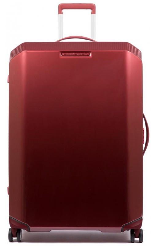 Большой чемодан Piquadro BV4428CB_R, красный, 89л