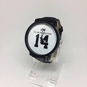 Часы мужские наручные с цифрой 14, фото 2