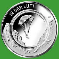 Германия 10 евро 2019 г. В воздухе , UNC