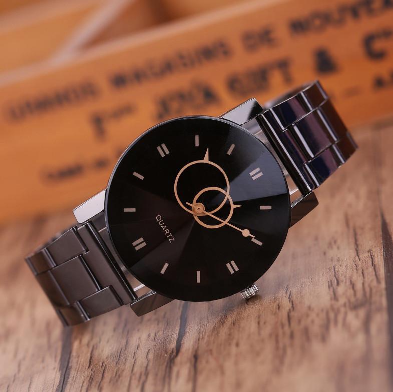 Наручные часы мужские Кевин черные
