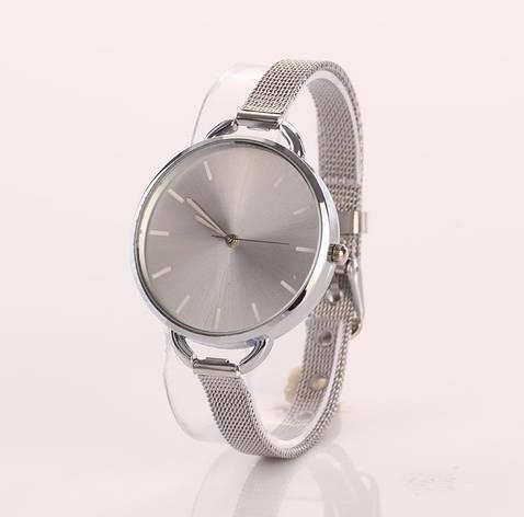Часы женские Geneva серебро, фото 2