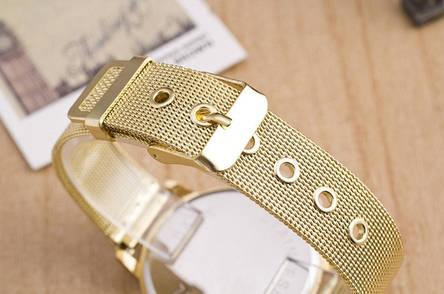 Часы женские металлические с позолотой, фото 2