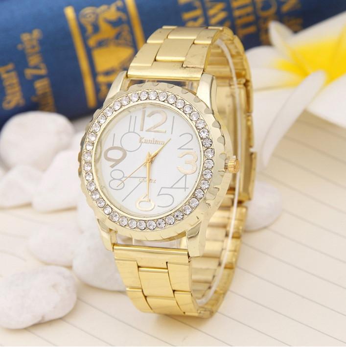 Женские наручные часы с позолотой Kanima Gold