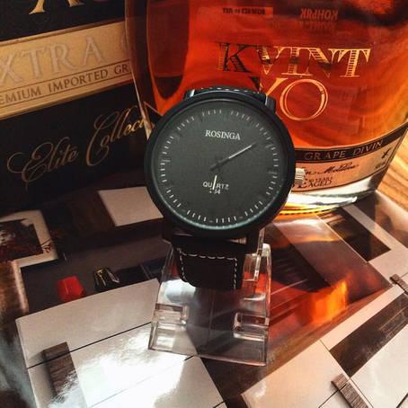 Черные мужские часы Rosinga, фото 2