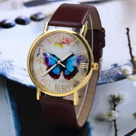 Наручные женские часы Geneva бабочка, фото 2