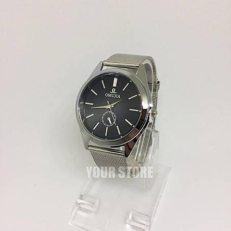 Классические женские часы Omujia стальные, фото 2