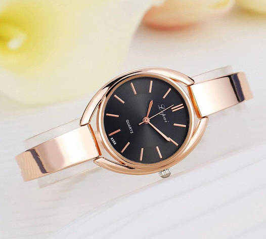 Женские часы браслет золото, фото 2