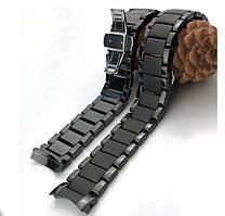 Керамический браслет для часов ARMANI AR1451 AR1452 Samsung  S3 S2 Galaxy Huawei 22 мм и 24 мм полумесяц