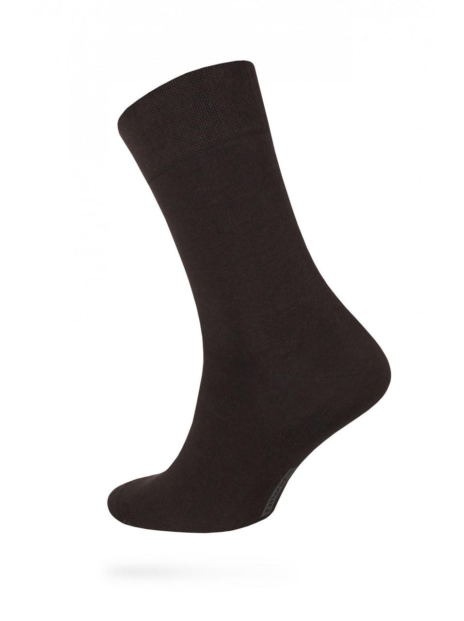 Носки мужские классические коричневі CLASSIC DIWARI 5С-08СП