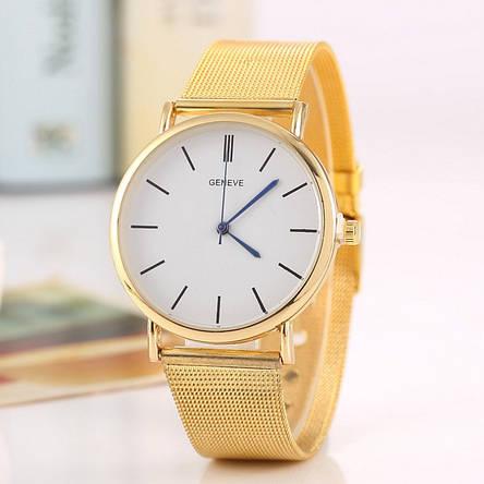 Женские наручные часы с позолотой, фото 2