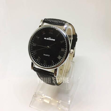 Классические часы для мужчин черные, фото 2