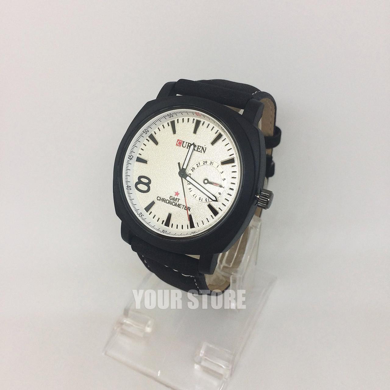 Мужские наручные часы Curren белый циферблат