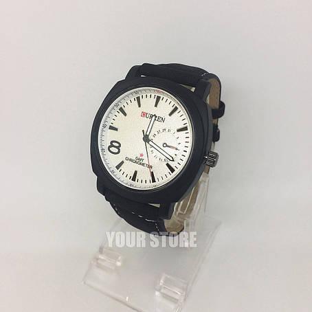 Мужские наручные часы Curren белый циферблат, фото 2