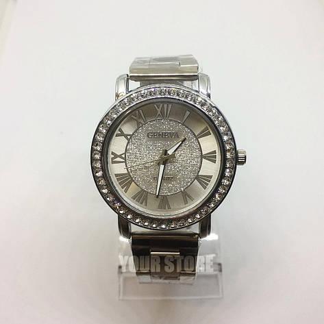 Металлические женские наручные часы Geneva, фото 2