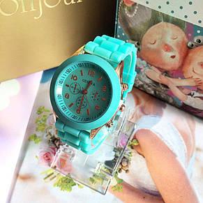 Часы женские наручные бирюзовые, фото 2